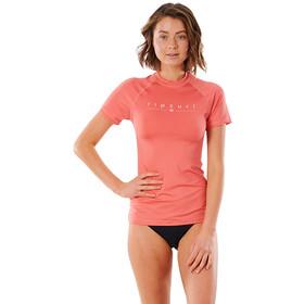 Rip Curl Golden Rays SS UV Shirt Women coral